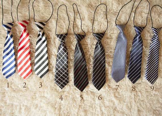 BABY/TODDLER STRIPED NECKTIES