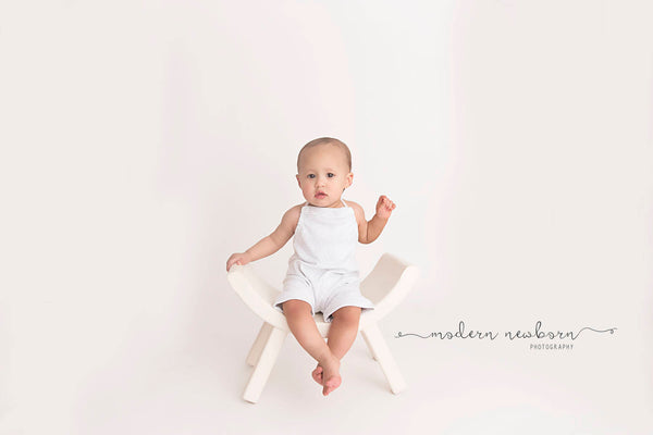 BABY ROMPER SITTER: 6 month boy romper, 12 month sitter, light grey ribbed knit childrens romper, baby photography, boy photo prop, handmade
