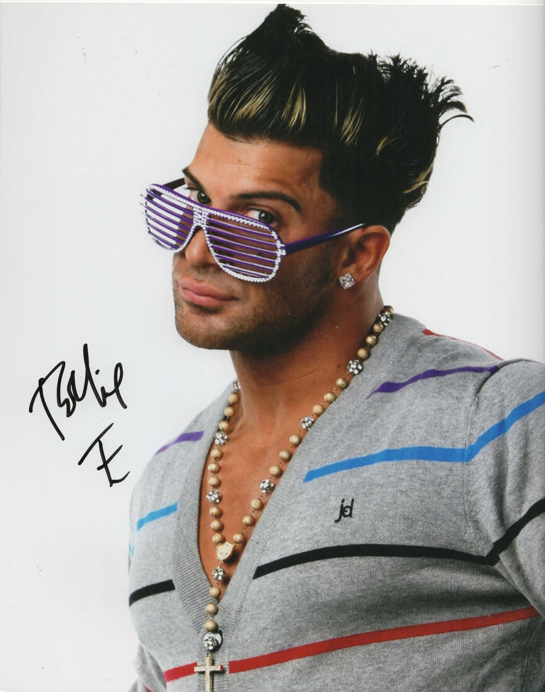 Robbie E Autograph 8x10 Photo TNA Wrestling Signed COA 1