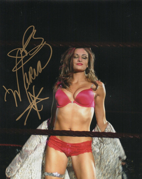 Maria Kanellis Autograph 8x10 Photo WWE WWF Signed Picture COA