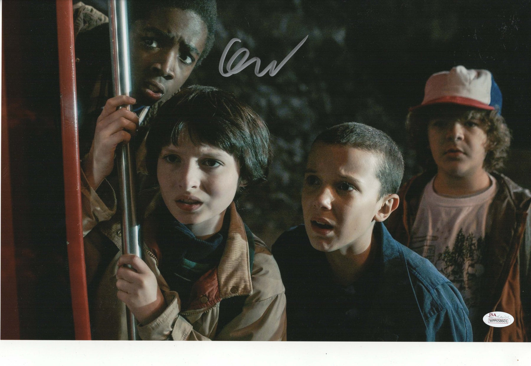 Finn Wolfhard Authentic Signed 11x17 Photo Stranger Things Mike Wheeler JSA COA 2