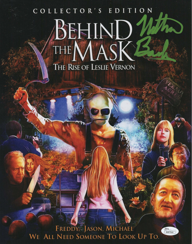 Behind the Mask The Rise of Leslie Vernon Autograph 11x14 Photo