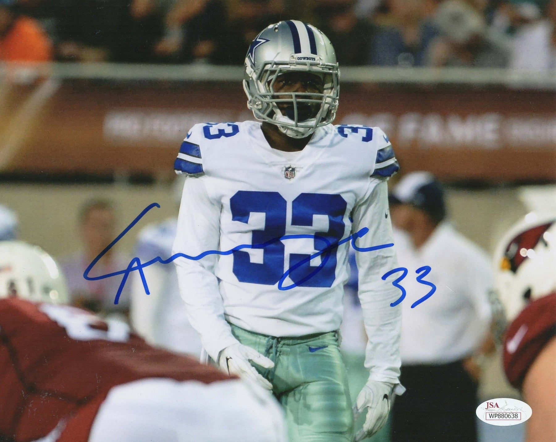 Chidobe Awuzie Autograph 8x10 Photo Dallas Cowboys Signed JSA COA