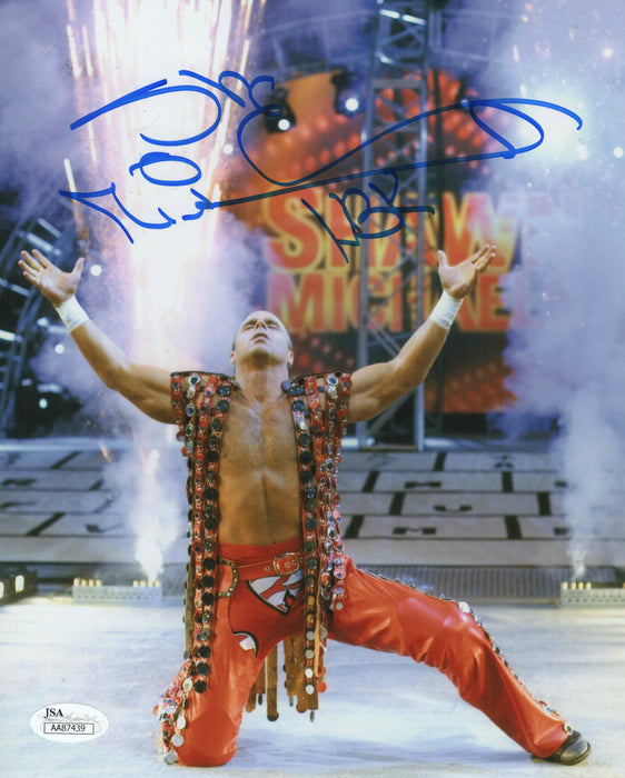 Shawn Michaels Autograph 8x10 Photo JSA Zobie