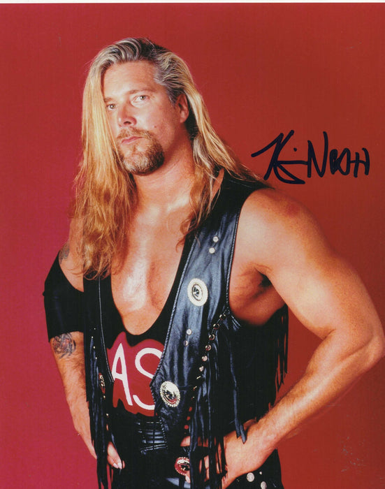Kevin Nash Autograph 8x10 Photo WWF DIESEL Signed COA 2