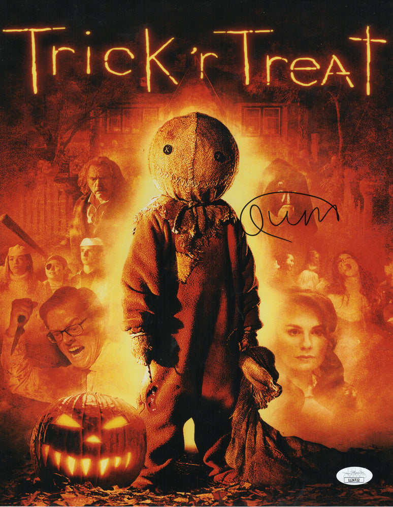 Quinn Lord Autograph 11x14 Photo Trick r Treat SAM Signed JSA COA