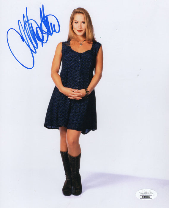 Christina Applegate Autograph 8X10 Photo Married with Children JSA COA 2