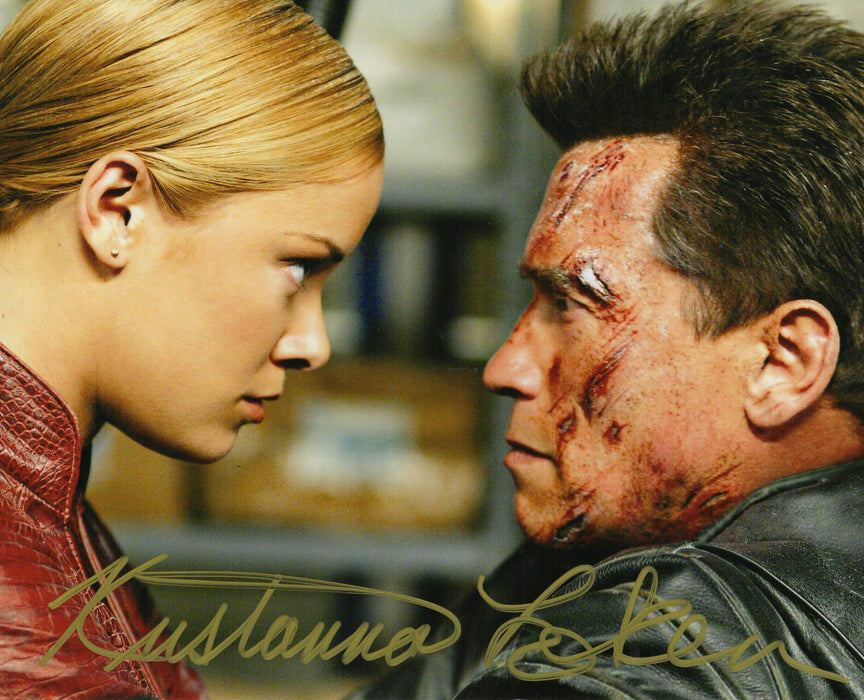 Kristanna Loken Autograph 8x10 Photo Terminator 3 Rise of the Machines JSA COA