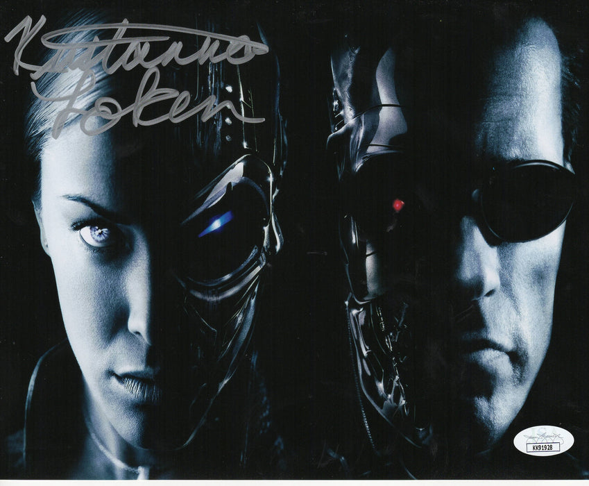 Kristanna Loken Autograph 8x10 Photo Terminator 3 Rise of the Machines JSA COA 2