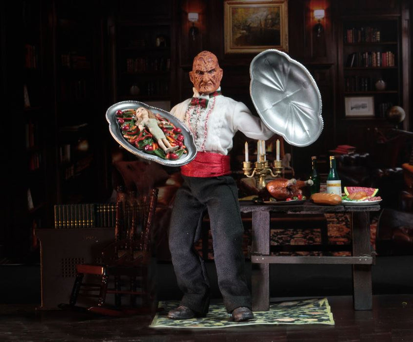"NECA Nightmare on Elm St - 8"" Clothed Figure - Part 5 Chef Freddy"