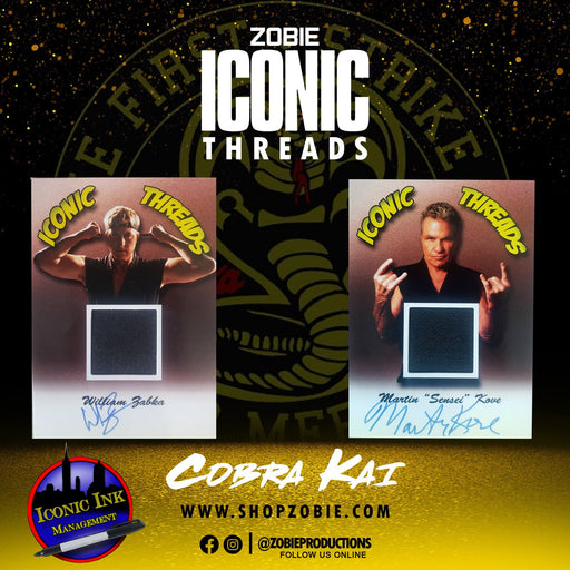 Zobie Flipz Collection: Iconic Threads Cobra Kai Edition
