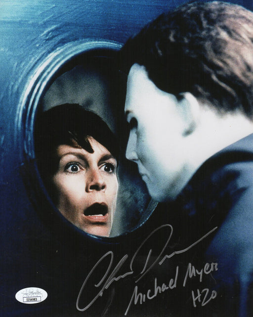 Chris Durand Autograph 8x10 Photo Halloween H2O Michael Myers  Signed JSA COA
