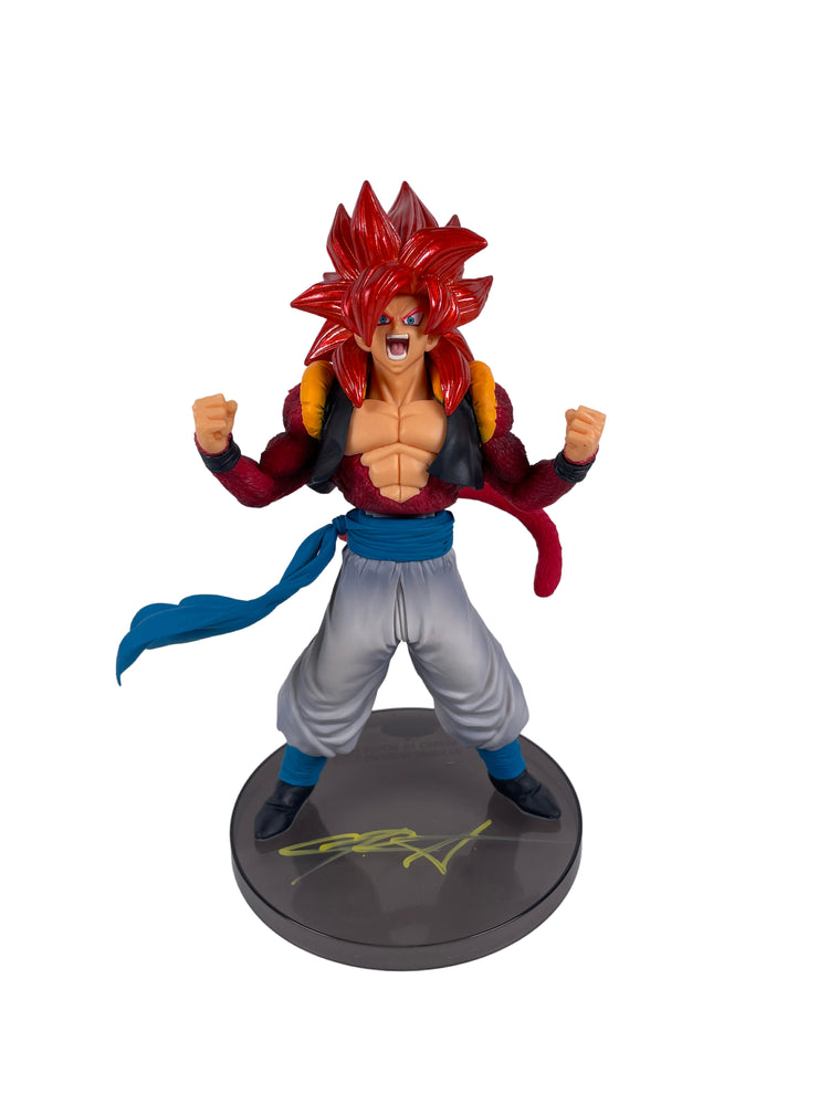 Christopher Sabat Autograph Banpresto Dragon Ball GT Super Saiyan Gogeta JSA COA