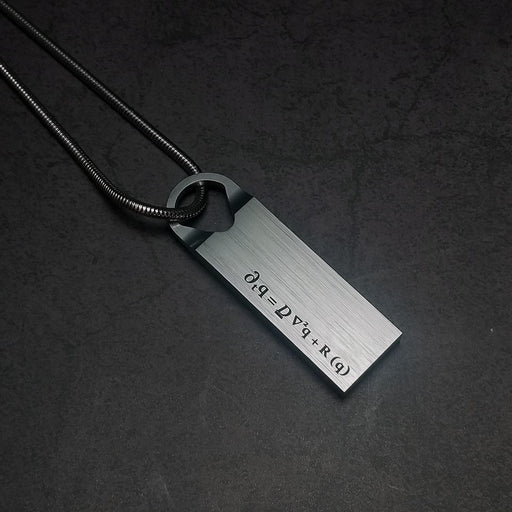 Zobie Gamer Prop Replica - Death Stranding Metal Pendant Necklace (Style 4)