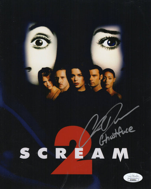 Chris Durand Autograph 8x10 Photo Scream Ghostface Signed JSA COA
