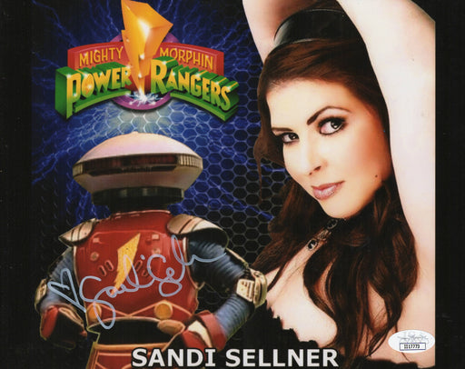 Sandi Sellner Autograph 8x10 Photo Mighty Morphin Power Rangers Alpha 5 JSA COA 2