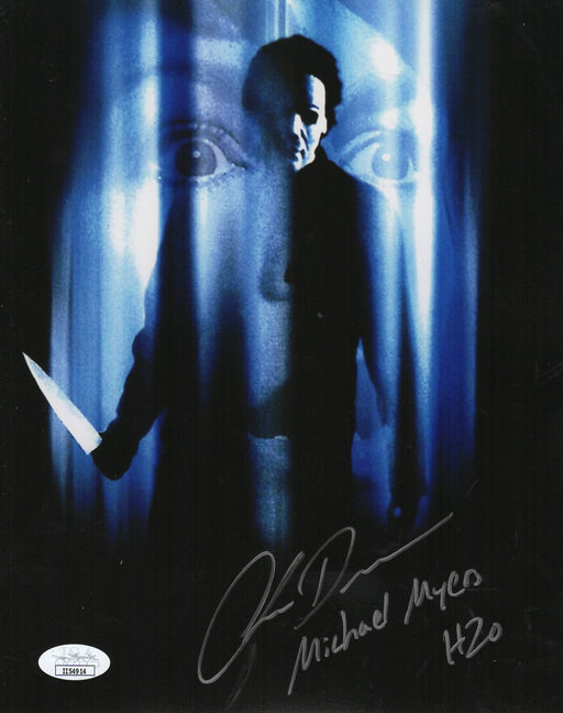 Chris Durand Autograph 8x10 Photo Halloween H2O Michael Myers Signed JSA COA 3