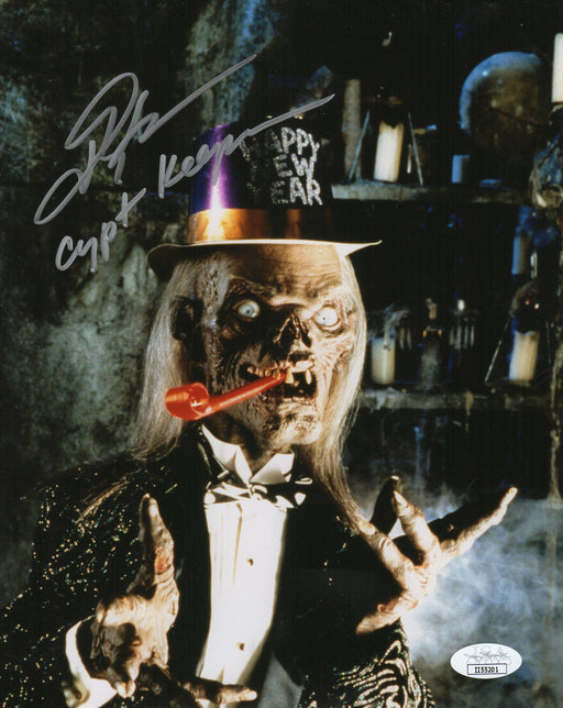 John Kassir Autograph 8x10 Photo Tales of the Crypt Signed JSA COA 5
