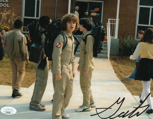 Gaten Matarazzo Autograph 8x10 Photo Stranger Things Dustin Signed JSA COA 3