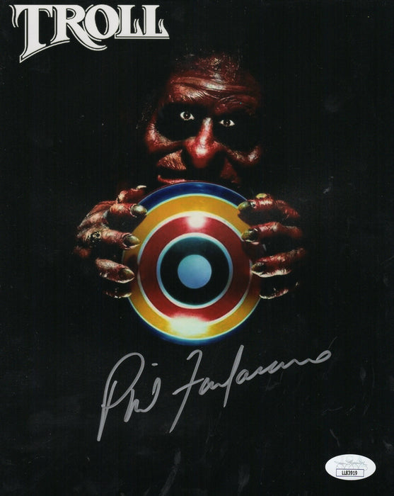 Phil Fondacaro Autograph 8x10 Photo Troll Horror Signed JSA COA