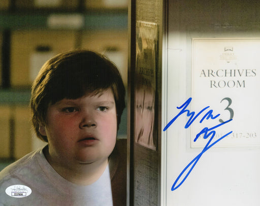 Jeremy Ray Taylor Autograph 8X10 Photo Signed IT Ben Hanscom JSA COA