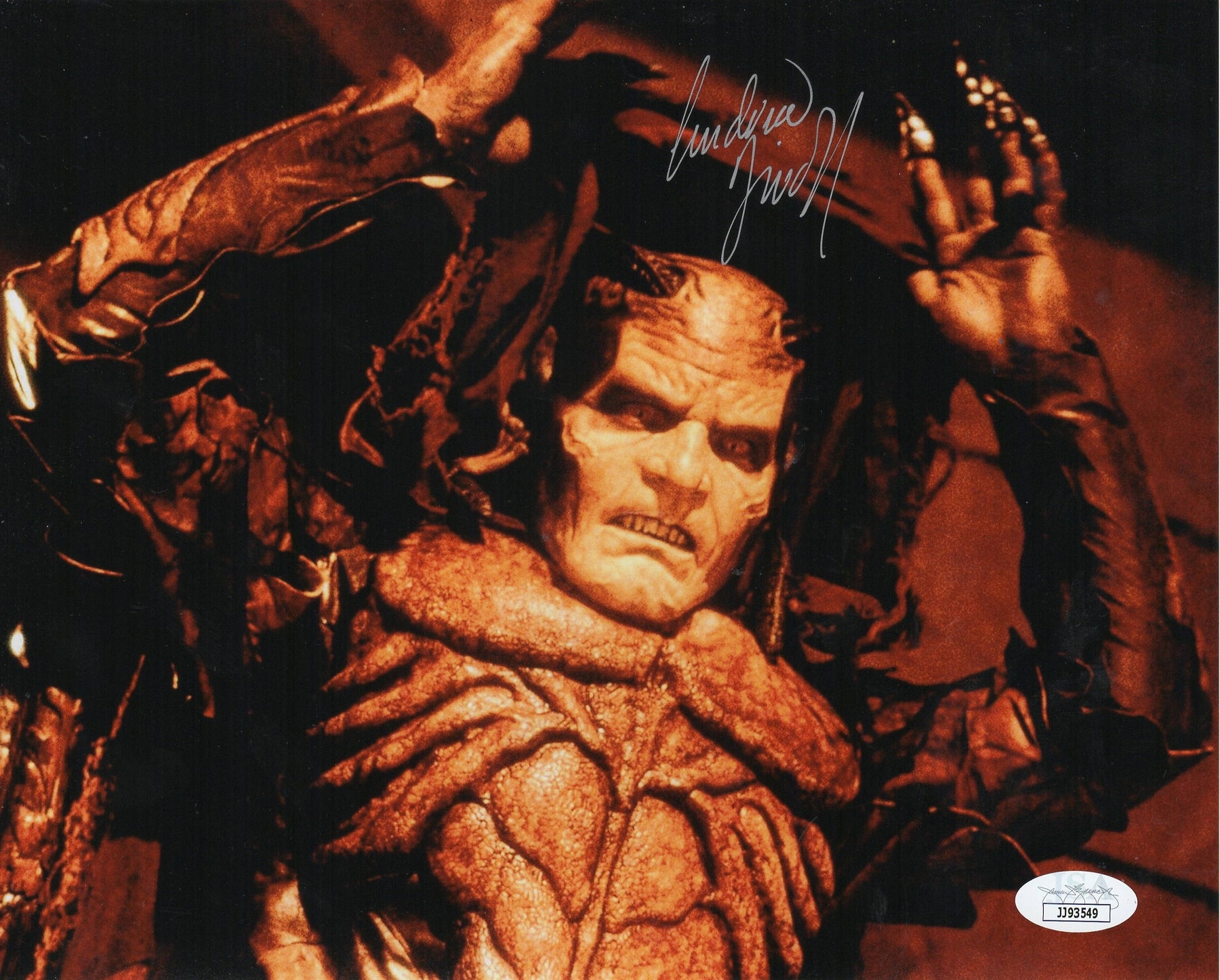 Andrew Divoff Autograph 8x10 Photo Wishmaster Signed JSA CO
