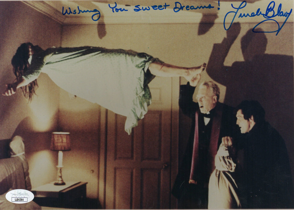 Linda Blair Signed 8x10 Photo The Exorcist Regan Autograph JSA COA 2