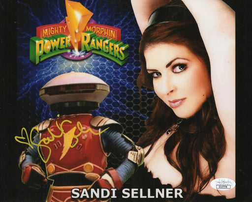 Sandi Sellner Autograph 8x10 Photo Mighty Morphin Power Rangers Alpha 5 JSA COA 3