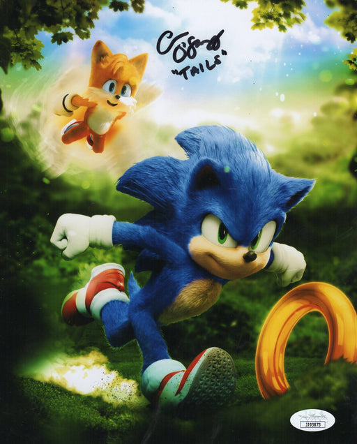 Colleen O'shaughnessey Autograph 8x10 Photo Sonic the Hedgehog Tails Signed JSA COA 2