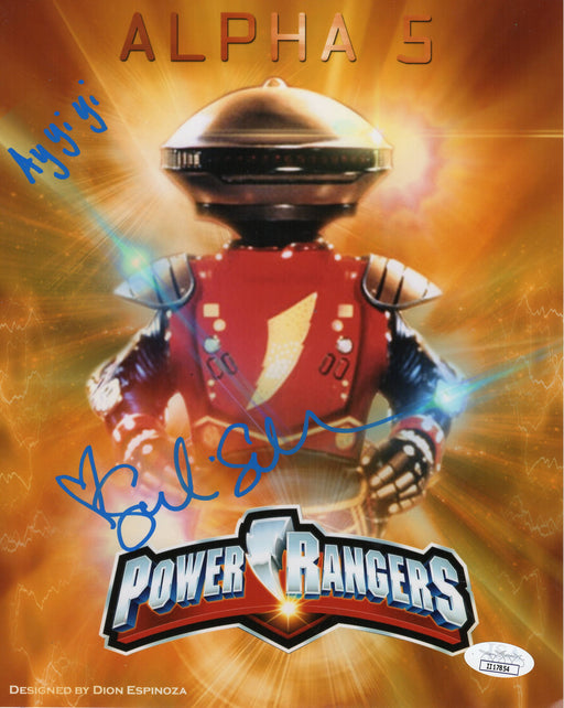 Sandi Sellner Autograph 8x10 Photo Mighty Morphin Power Rangers Alpha 5 JSA COA 6