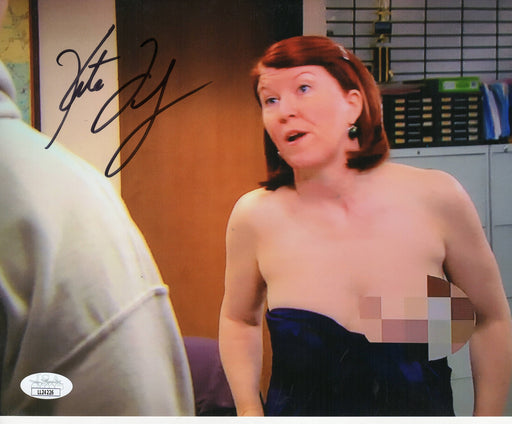 Kate Flannery Autograph 8x10 Photo The Office Meredith Signed JSA COA