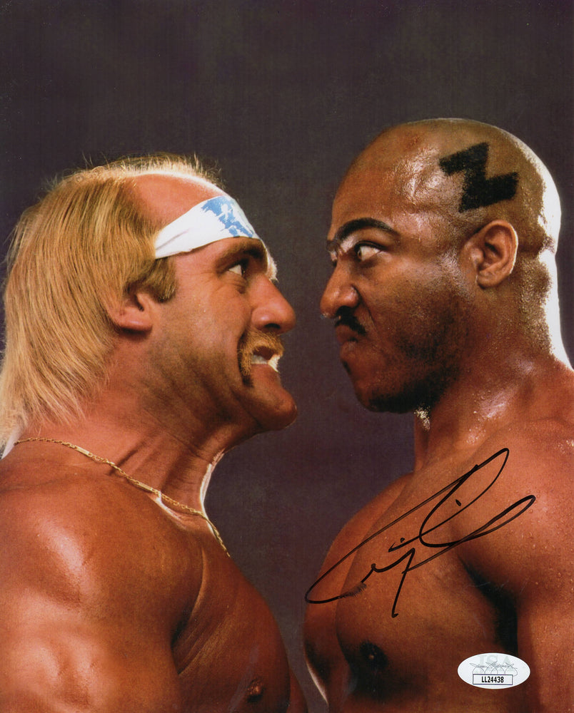 Tiny Lister Autograph 8x10 Photo No Holds Bar Signed JSA COA 2