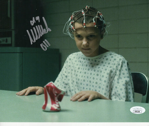 Millie Bobby Brown Autograph 8x10 Photo Stranger Things Eleven Signed JSA COA 2