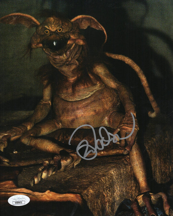SPECIAL Mark Dodson Autograph 8x10 Photo Star Wars Salacious Crumb JSA COA