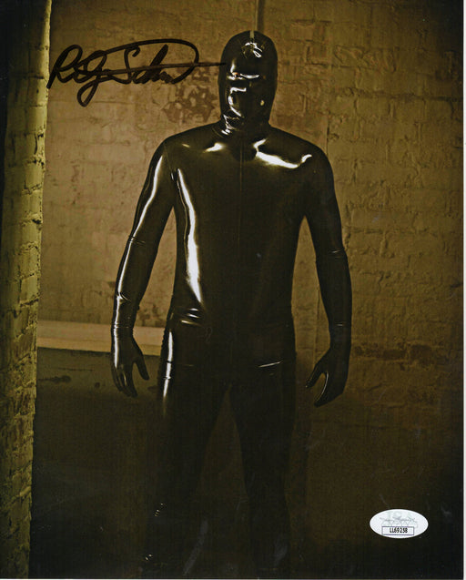 Riley Schmidt Autograph 8x10 Photo American Horror Story Rubber Man Signed JSA COA