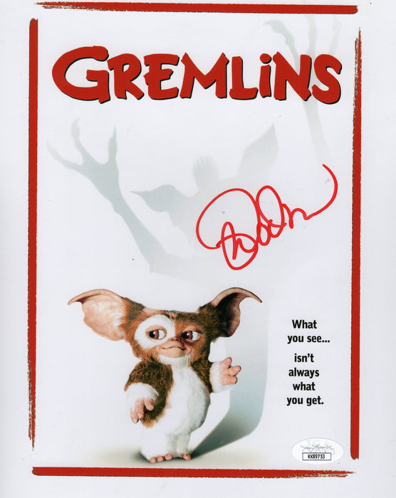 Mark Dodson Autograph 8x10 Photo Gremlins Signed JSA COA Z2
