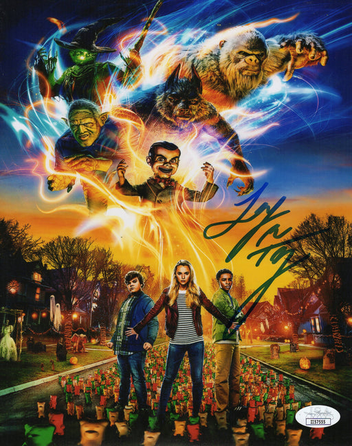 Jeremy Ray Taylor Autograph 8X10 Photo Signed Goosebumps JSA COA