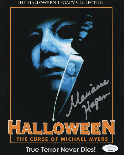 Marianne Hagan Autograph 8x10 Photo Halloween Curse of Michael Myers JSA COA