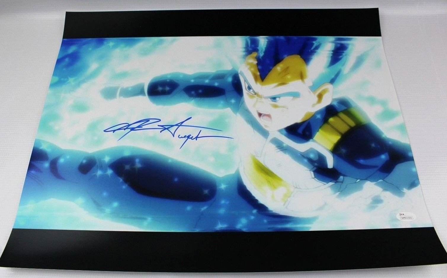 Chris Sabat Authentic SIGNED 16x20 Picture Autograph Dragon Ball Z Vegeta JSA 1