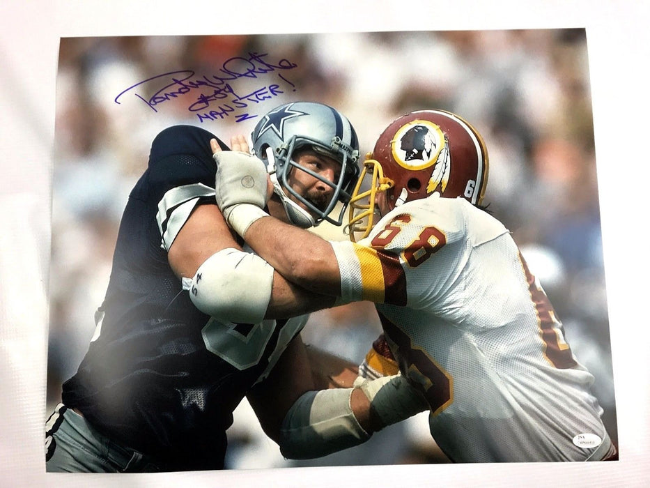 Randy White Signed 16x20 Photo Maryland Terrapins Autograph JSA Dallas Cowboys 5
