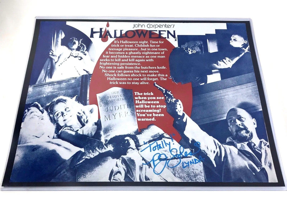 PJ Soles Autograph 16x20 Photo Halloween Michael Myers Signed Zobie COA
