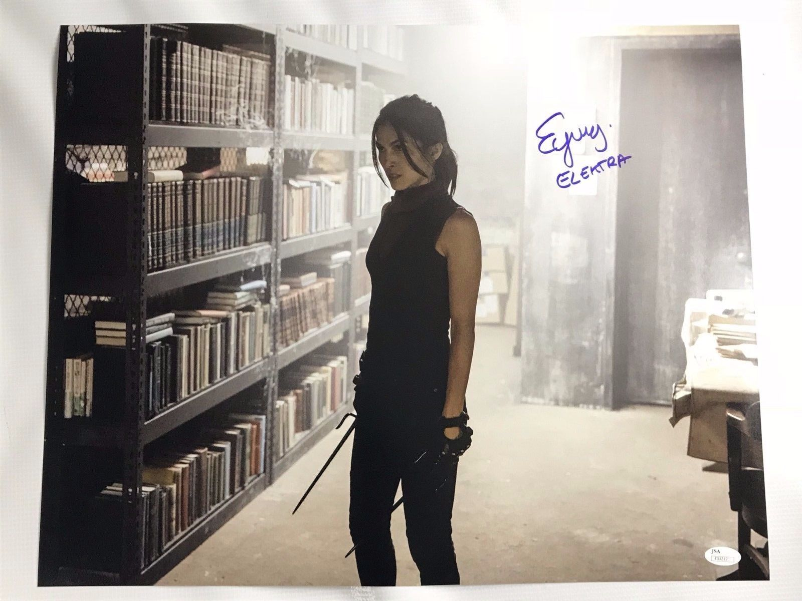 Elodie Yung Authentic Signed 16x20 Photo Daredevil Elektra Autographed JSA COA 6