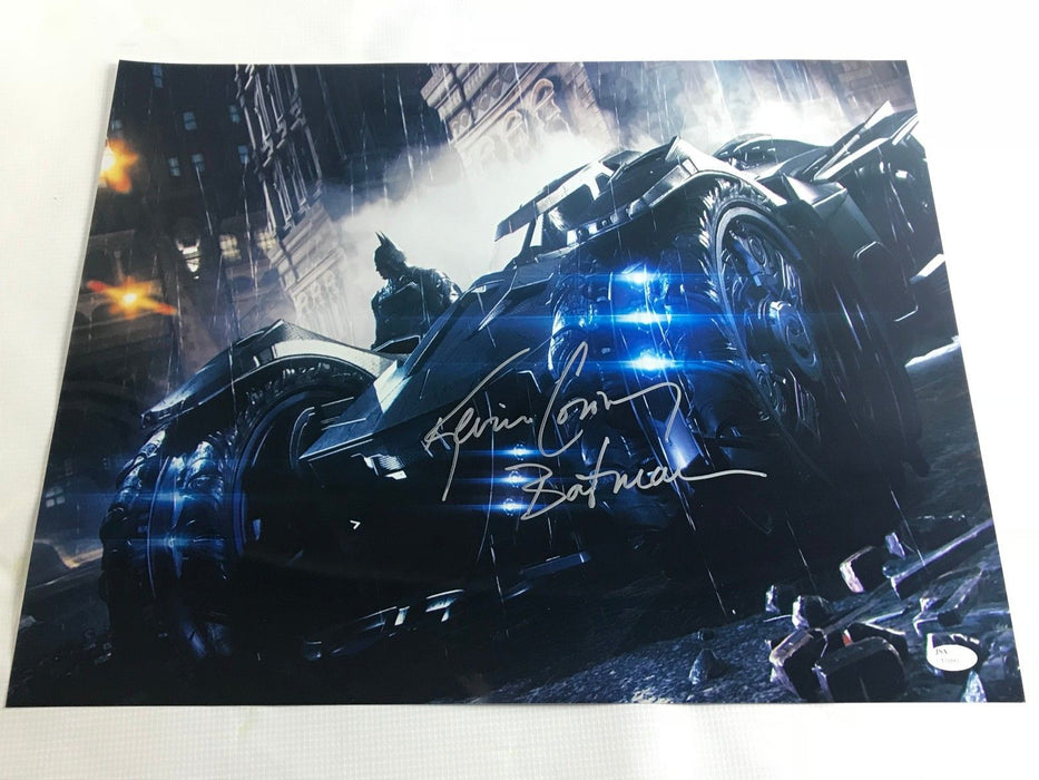 Kevin Conroy Signed Autograph Batman 16x20 Photo JSA COA Arkham Knight