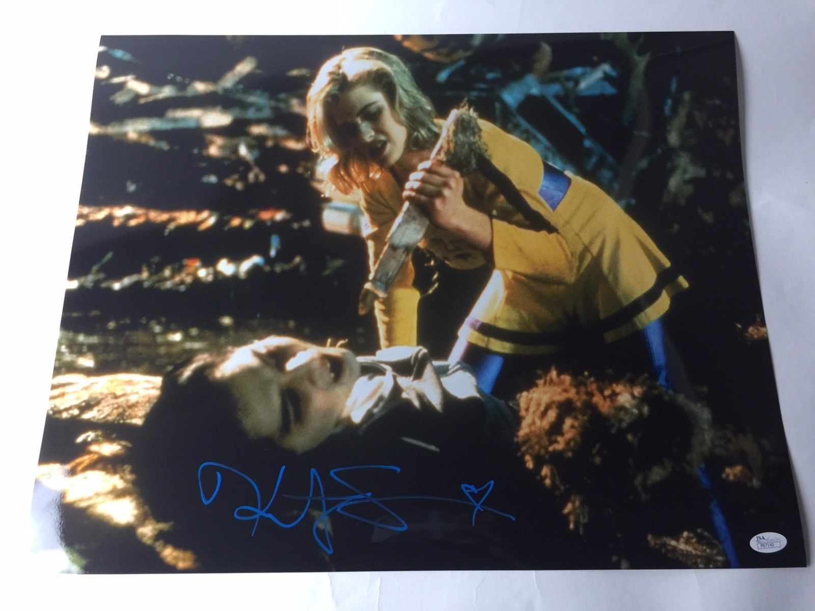 Kristy Swanson 16x20 Picture Autograph Signed JSA COA Buffy the Vampire Slayer