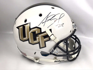 Asante Samuel Signed UCF Full Size Helmet University of Central Florida Proof 2