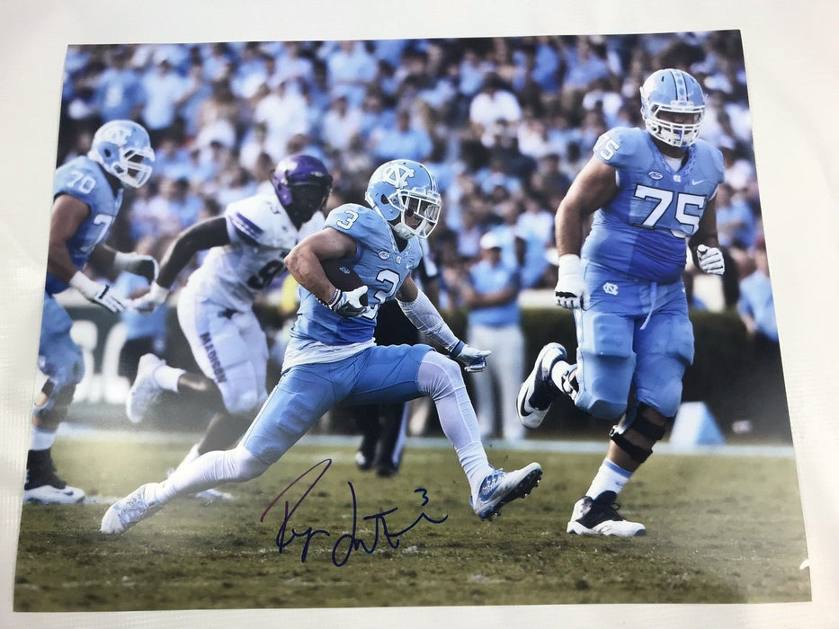 Ryan Switzer Signed 16x20 Custom Photo Dallas Cowboys COA Tar Heels Autograph 6