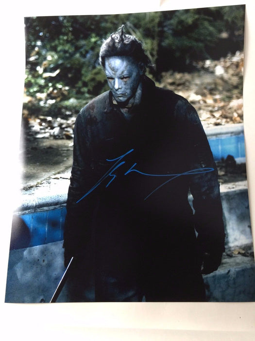 Tyler Mane Autograph Rob Zombie Halloween Michael Myers 16X20 Photo Signed COA 2
