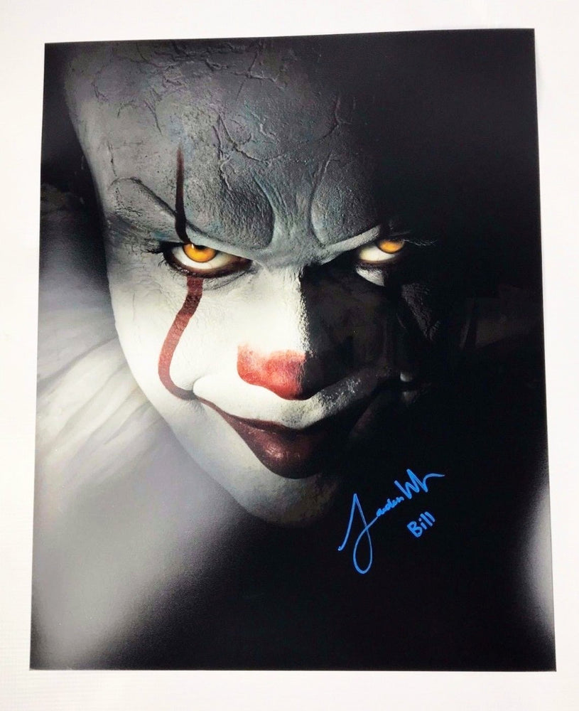 Jaeden Lieberher Signed 16x20 Photo IT 2017 Pennywise Picture COA 2