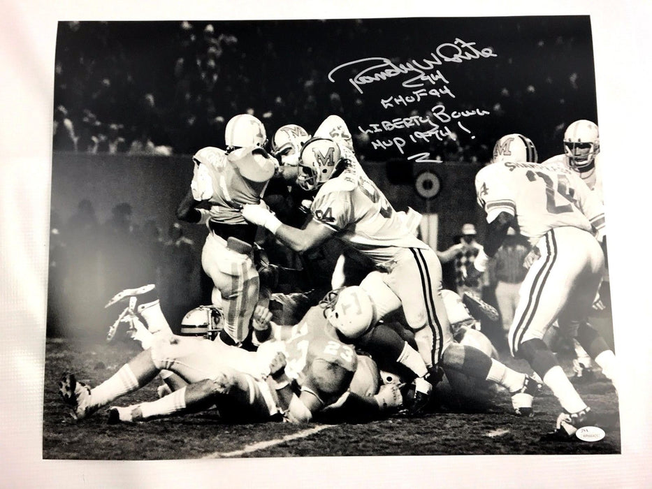 Randy White Signed 16x20 Photo Maryland Terrapins Autograph JSA Dallas Cowboys 9