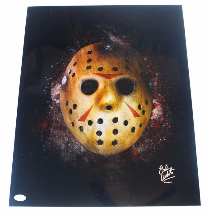 Ted White Autograph 16x20 Photo Signed JSA COA Friday the 13th Final Chapter 2